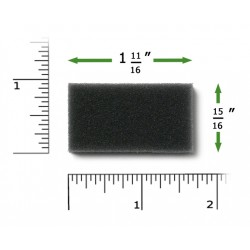 Многоразовый фильтр для СИПАП и Авто СИПАП аппаратов Филипс-Респироникс моделей M Series, PR System One, 60 Series